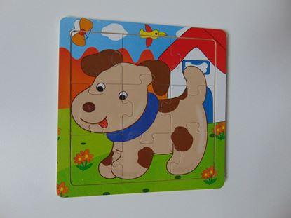 Kép Tábla kirakó - kutya