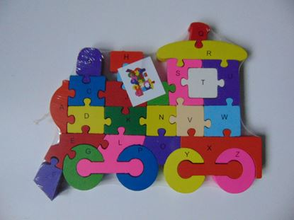 Kép Puzzle - vonat