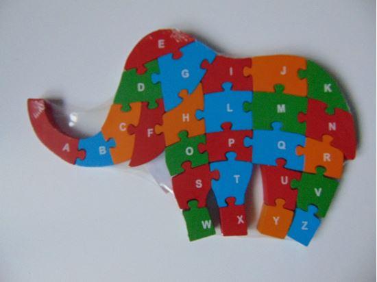 Picture of Puzzle - elefánt