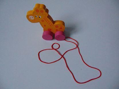 Kép Húzogatható zsiráf