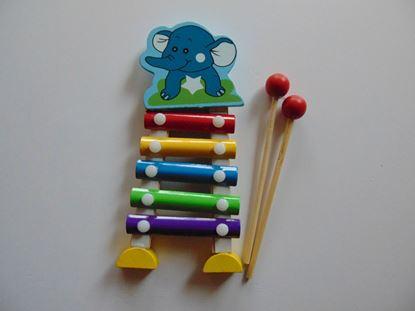 Kép Metalofon / elefántos - kicsi