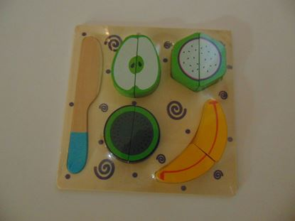 Kép Szeletelős játék, gyümölcsökkel