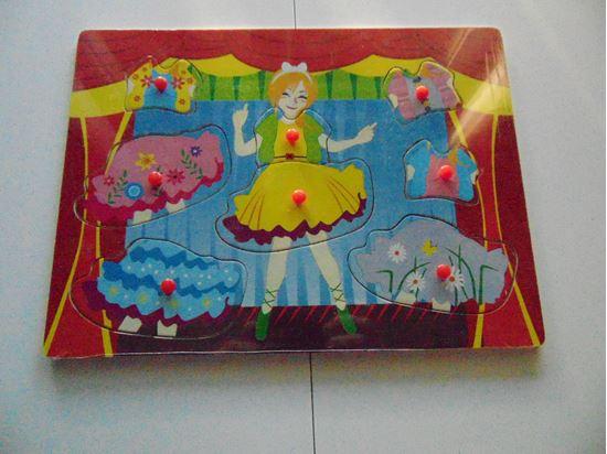 Picture of Öltöztetős játék (piros)