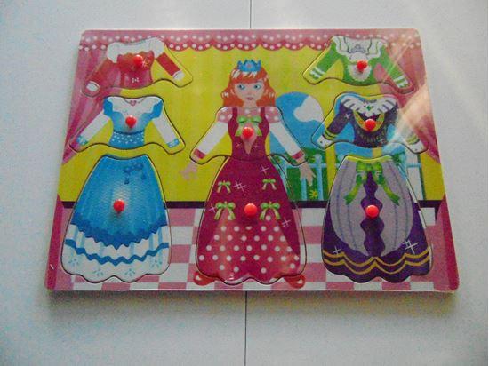 Picture of Öltöztetős játék (rózsaszín)